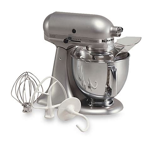 Kitchen Aid Silver by Buy Kitchenaid 174 Artisan 174 5 Qt Stand Mixer In Silver