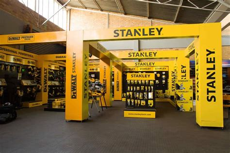 Dekker By Shop stanley black and decker shop in shop tool display