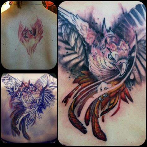 phoenix tattoo cover up color phoenix coverup tattoo maximilian tattoo