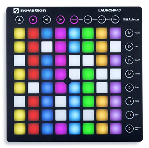 Novation Launchpad Mk2 2 novation launchpad mk2 ableton live controller agiprodj