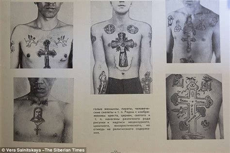 russian prison tattoos secret meanings revealed from