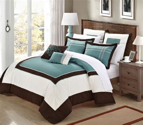 turquoise brown comforter sets turquoise and brown bedding brown comforter sets king also