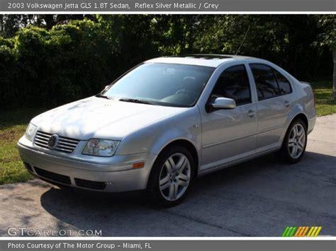 grey volkswagen jetta 2003 reflex silver metallic 2003 volkswagen jetta gls 1 8t