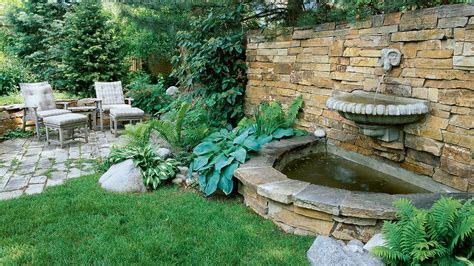 water fountains for small backyards great garden fountain ideas sunset