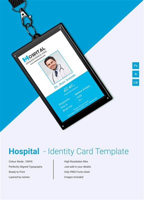 identity card design template 12 best id cards images on card patterns