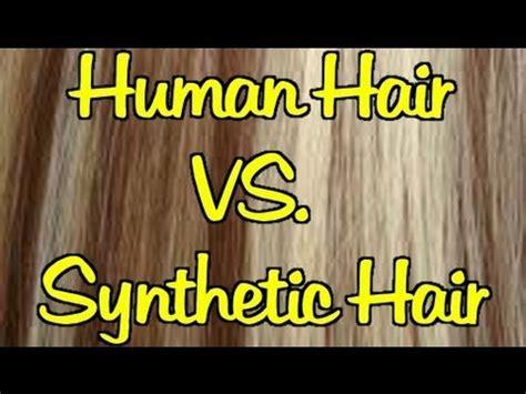 synthetic hair vs real human human hair extensions vs synthetic hair extensions 5