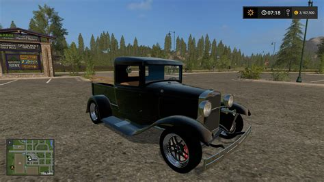1930s Ls by 1930 Ford Model A Truck V1 0 Car Farming Simulator 2017