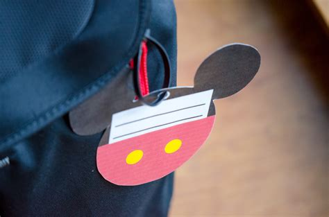printable mickey mouse luggage tags free printable mickey mouse luggage tags brought to you