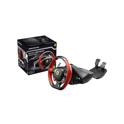 volante thrustmaster xbox one volant thrustmaster 458 spider pro xbox one