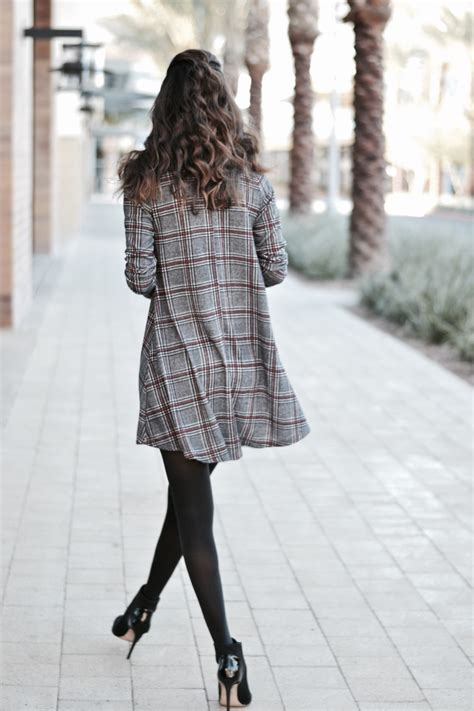 plaid swing dress plaid swing dress diverse city style