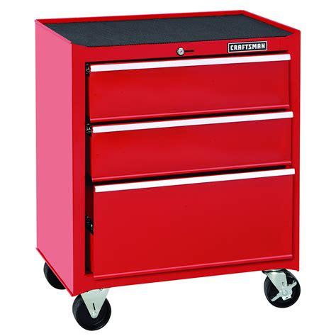 craftsman 3 drawer tool box rolling craftsman 26 in wide 3 drawer standard duty ball bearing
