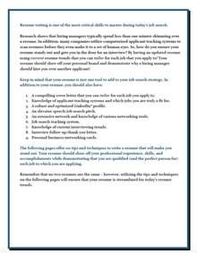 resume writing techniques best resume gallery