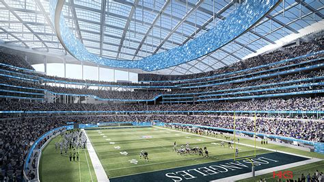 do the rams play today la rams stadium architect details facility design in