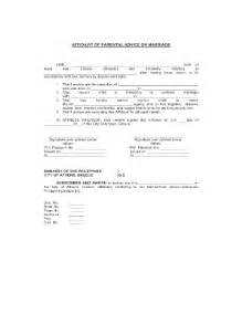 Parent Consent Letter For Civil Wedding Marriage Contract Sle Forms And Templates Fillable Printable Sles For Pdf Word