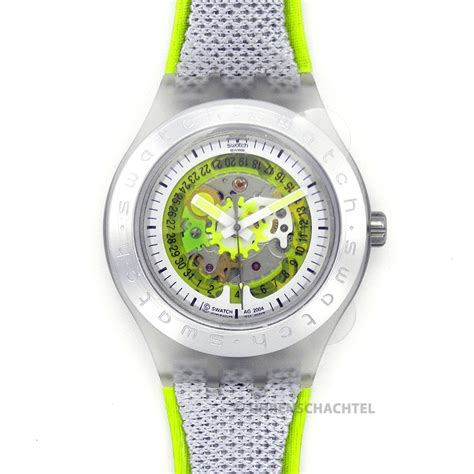Swatch Seri Aotomatic swatch irony diaphane automatic citrime svdk4002 new