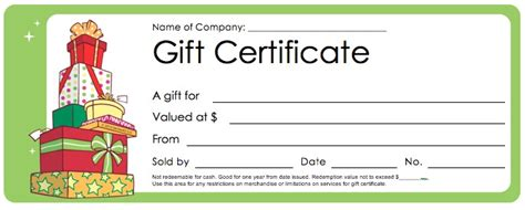 gift certificate template word best photos of word gift certificate template
