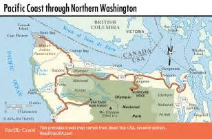 pacific coast route through washington state road trip usa