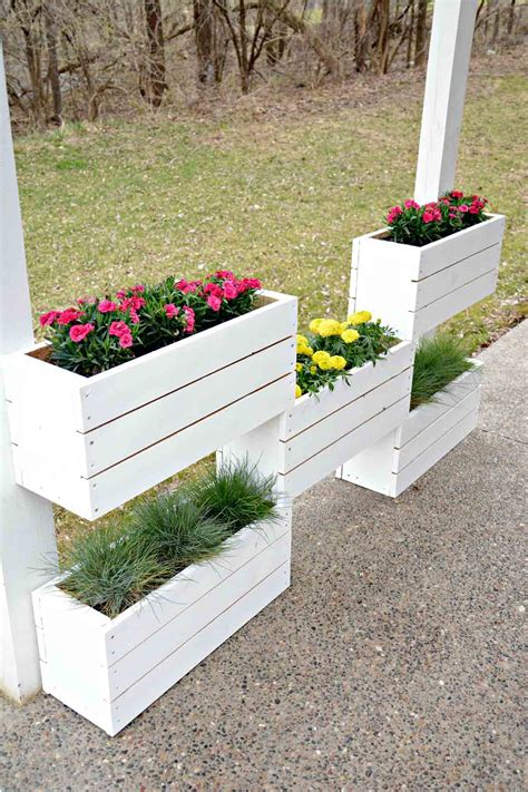 Outdoor Planter Box Ideas by 32 Best Diy Pallet And Wood Planter Box Ideas And Designs