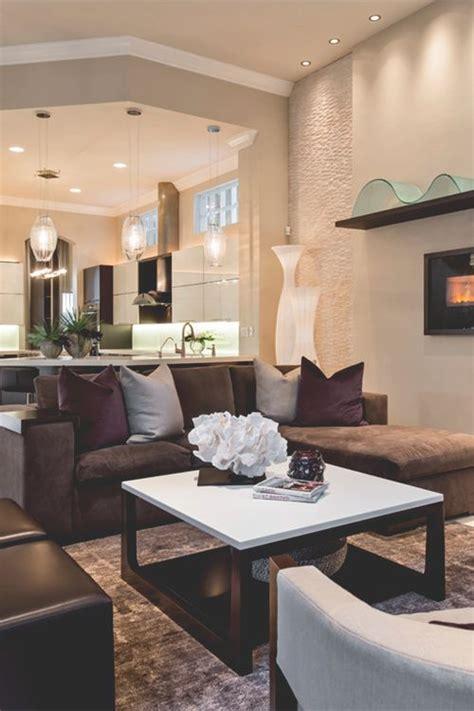 decoracion de salas cafe  como organizar la casa