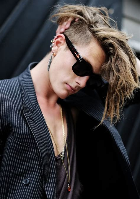 undercut hairstyles for long hair guys long hair undercut