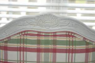 plaid fauteuil fauteuil style chair in pink and green plaid fabric ebth
