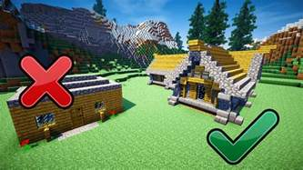 how do you make a house 5 easy tips to build better in minecraft youtube
