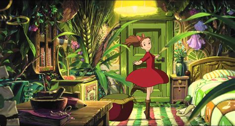 studio ghibli film arrietty the secret world of arrietty now playing youtube