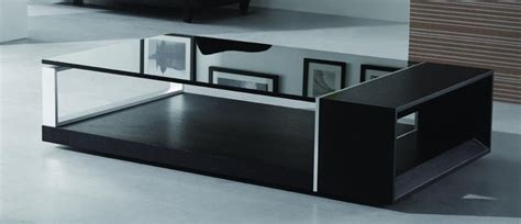 black glass top coffee table contemporary coffee table with black glass top el monte