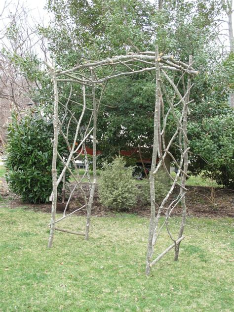 Twig Trellis 17 Best Images About Twig Arbors On Gardens