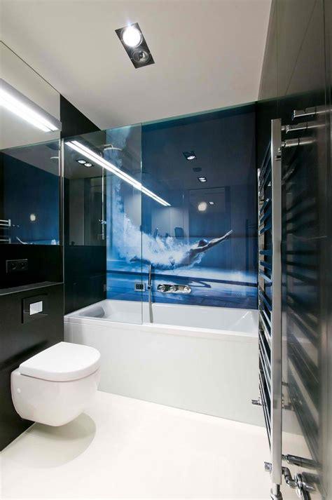 glas wand badezimmer glas statt fliesen im bad pflegeleicht und dekorativ