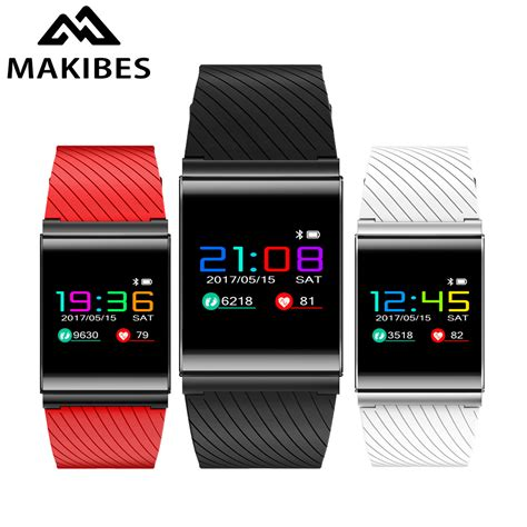 X9 Plus Blood Pressure Oxygen With Rate Monitor Murah makibes x9 pro color lcd smart bracelet blood pressure