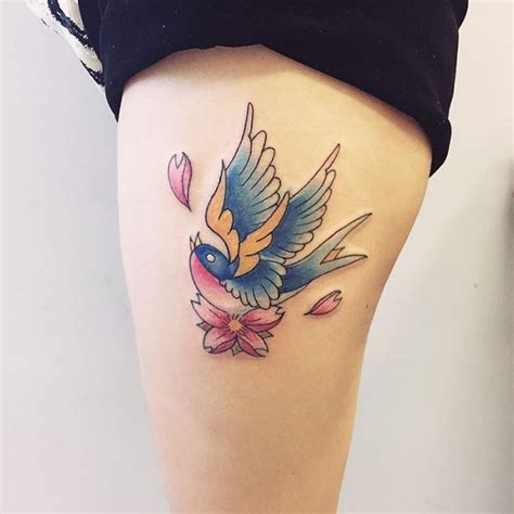 pretty swallow tattoo designs 80 bird