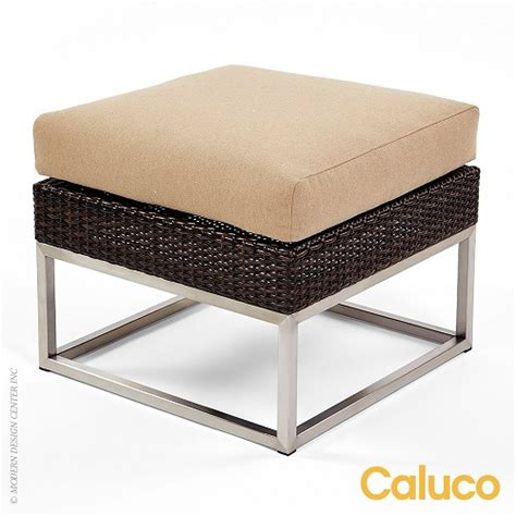 Caluco Patio Furniture Mirabella Ottoman Caluco Patio Furniture Metropolitandecor
