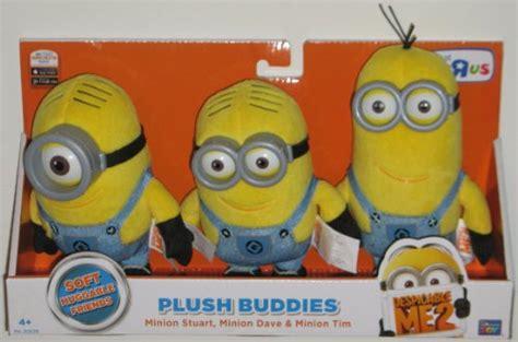 Sale Boneka Minions Despicable Me Dave Stuart Bob Jerry other toys despicable me 2 plush buddies exclusive 3