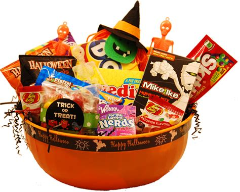 treat gifts happy gift basket gift baskets trick