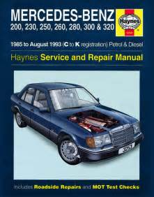 Mercedes E320 Manual Haynes Mercedes W124 E Class Manual