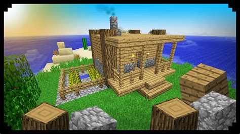 minecraft starter house minecraft how to make a starter house wood and