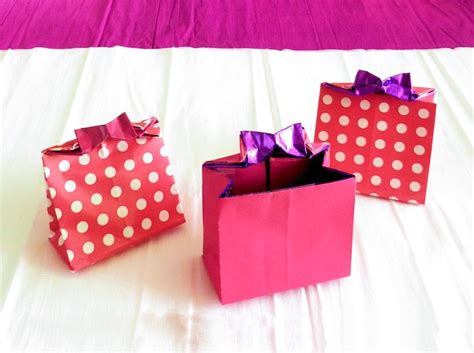 How To Make A Origami Gift Bag - joost langeveld origami page
