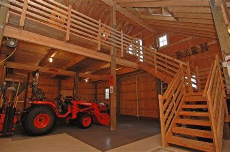 barn with loft plans loft railings my future barn and tack pinterest barn