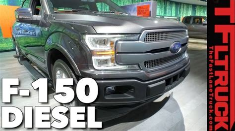 2018 Ford F150 Diese by 2018 Ford F150 Half Ton Diesel Truck Wars Are Kicking