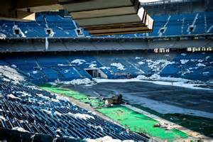 Pontiac Silverdome Pontiac Silverdome Striking Photos Of The Abandoned
