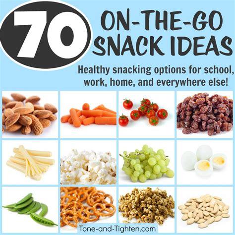 snacks idea 70 portable healthy snacks tone and tighten
