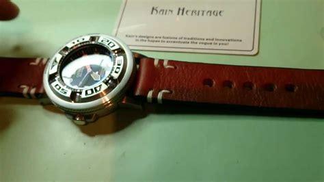 Kain Hello Style kain heritage 24mm panerai style unboxing