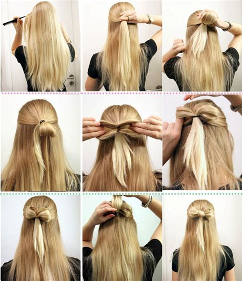 easy hairstyles can done home تسريحات شعر بسيطه سهله و سريعه الخطوات بالصور منتديات