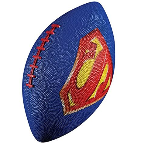 superman rubber st sports american football find franklin sports products