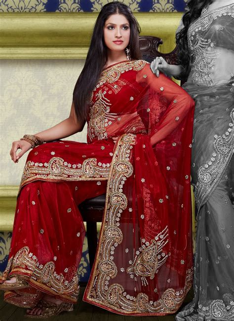 Top 21 Heavy Work Bridal Sarees for Wedding