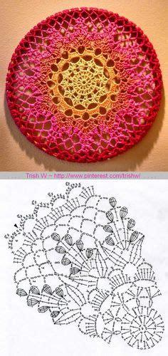 crochet doilies diagram images crochet doilies