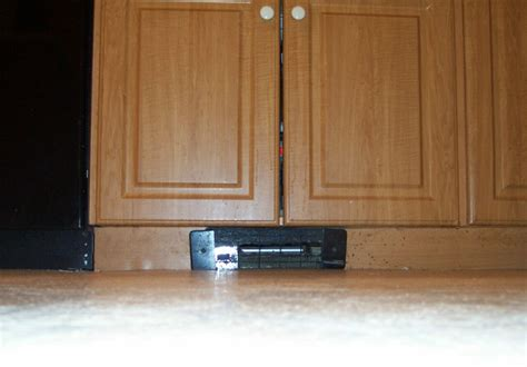 under kitchen cabinet heating under cabinet baseboard heating manicinthecity