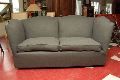 charcoal grey sofa and loveseat charcoal grey wool flannel sofa for sale at 1stdibs