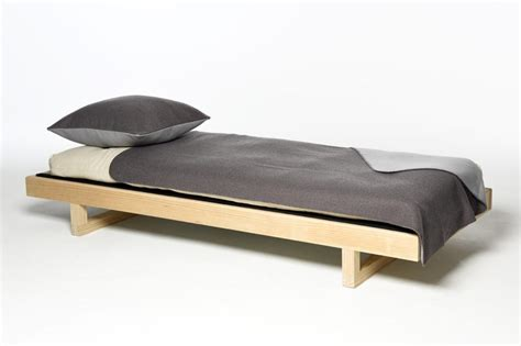 Floating Bookcases Mirage Single Wooden Bed Futon Company